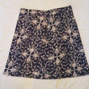 Eddie Bauer Knit Blue Skirt